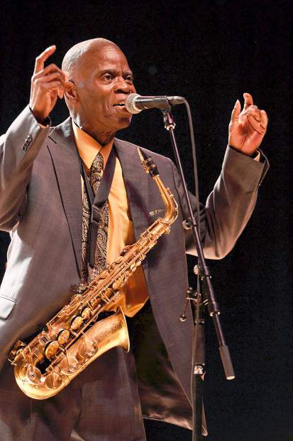 Maceo Parker performed Friday night at the JAS June Experience.