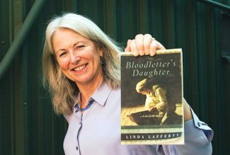"""Roaring Fork Valley writer Linda Lafferty has published three historical thrillers since 2012. She won the Colorado Book Award in historical fiction for """"The Drowning Guard"""" on Friday."""