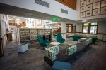Updated furniture, LED light fixtures, and a more open floorplan are part of the newly renovated Pitkin County Library.