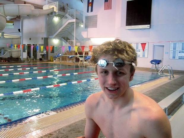 Max bryant realizes dream of college swimming for Wetherby swimming pool swim times