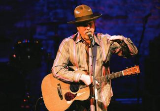 Robert Earl Keen performing at the Wheeler Opera House in 2010. Keen will return to the valley tonight for a show at PAC3 in Carbondale.