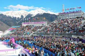Sochi, Russia is 25 miles from Rosa Khutar, the village where the Winter Olympics are taking place this year.