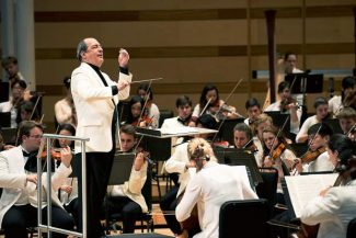Aspen Music School and Festival music director Robert Spano appears during a 2013 performance.
