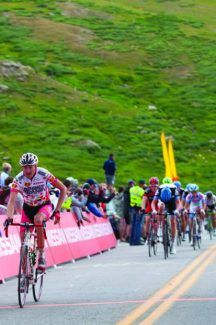 Aspen native Alex Hagman climbs Independence Pass during the inaugural USA Pro Challenge in 2011. The 10-year pro retired from the professional ranks this year.