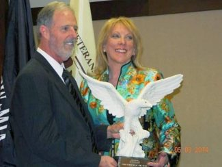 Aspen resident Janis Nark, Lt.Col., USA (Ret.) was presented with the Veteran of The Year award from VietNow, an organization of veterans helping veterans, on May 4 in Madison, Wisconsin.