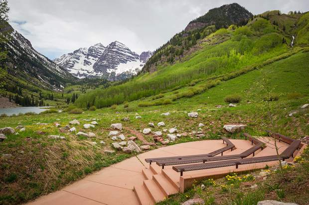 Forest Service Rings Wedding Bells At Maroon Bells Less