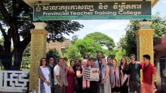 With The Aspen Times in tow, educators from the Roaring Fork Valley participated in the Teachers Across Borders program in Siem Reap, Cambodia, this summer. For six days, these teachers and administrators partnered with educators from Sweden to work with more 200 teachers in Cambodia in an effort to share educational ideas. If you have a photo of you and/or your friends or relatives with a copy of The Aspen Times in a faraway spot (west of the roundabout or east of Difficult Campground will do), send it to rcarroll@aspentimes.com, and look for it in an upcoming Sunday edition.