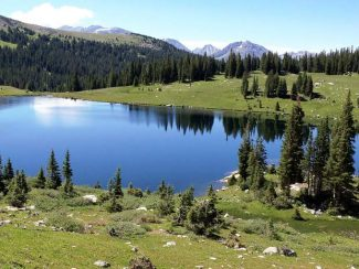 Conservationists want to add more pristine lands to the wilderness inventory of the central Colorado mountains. This lake in the Upper Fryingpan Valley has wilderness protection.
