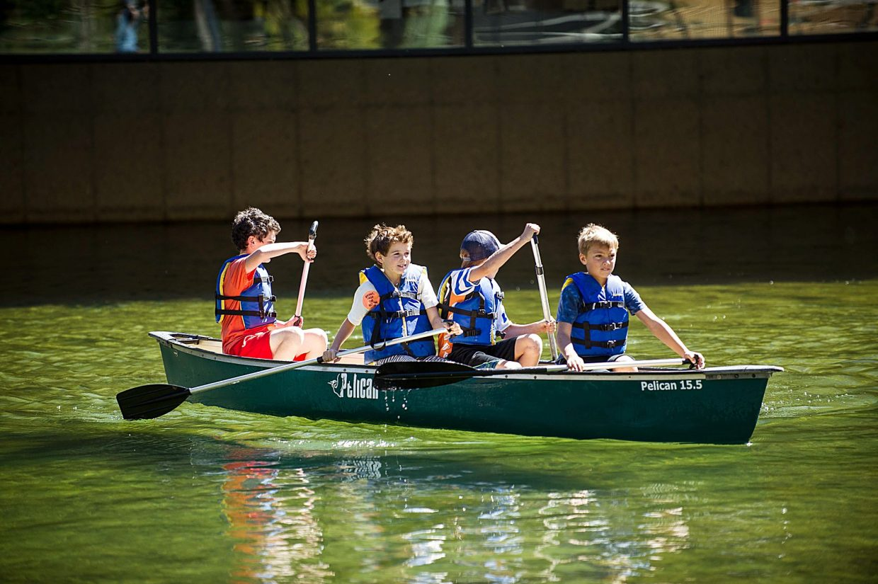 """""""We're all about a balance of arts, academics and outdoor education,"""" said Aspen Country Day School Director of Communications Carolyn Hines."""