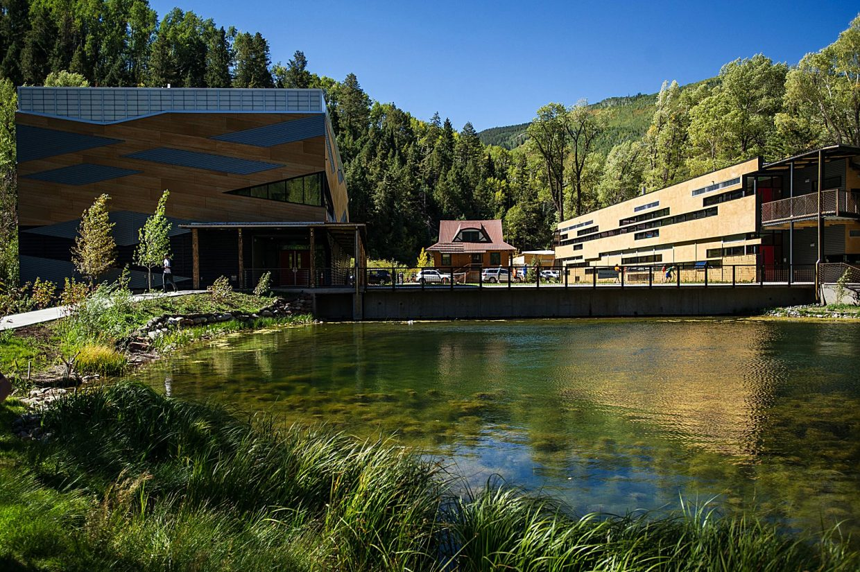 The redevelopment cost a grand total of $70 million, split evenly between Aspen Country Day School and Aspen Music Festival and School.