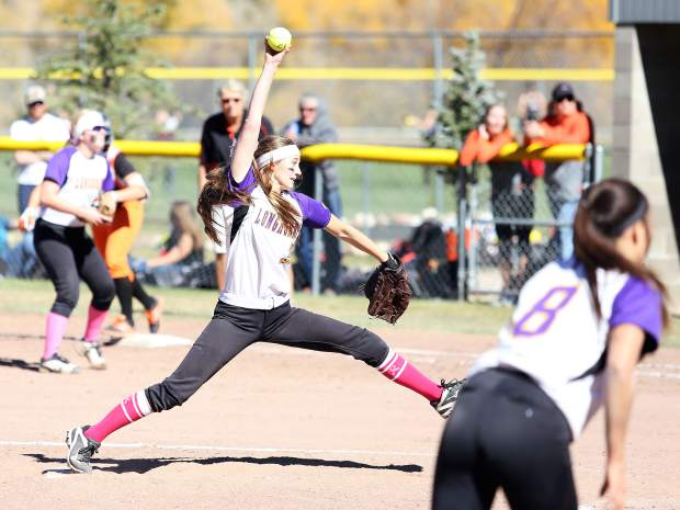 Basalt junior pitcher Morgan Ash throws against Sterling on Saturday in regional play.