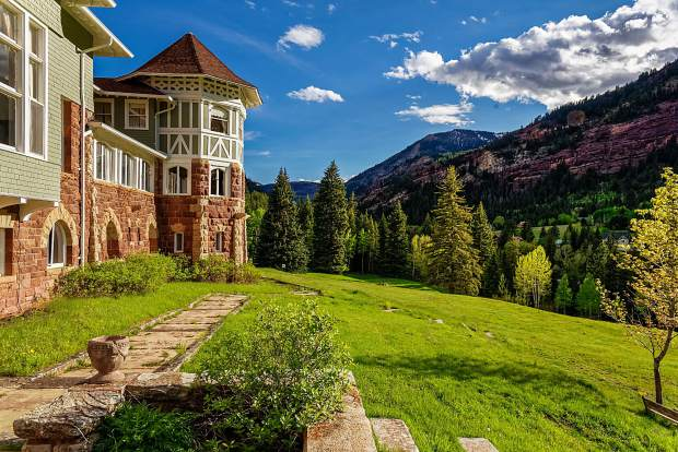 Redstone Castle sold for $2.2 million to Steve and April Carver, owners of the Hotel Denver in Glenwood Springs.
