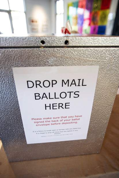 Drop in ballots are accepted at the polling locations in Aspen.