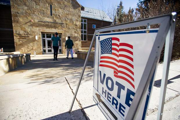 Aspen Jewish Community Center open for polling on Tuesday.