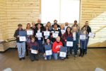 Graduates from the second annual Basalt Citizens' Police Academy were recognized for their efforts in a ceremony Nov. 19.