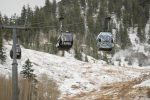 Snow fell on Aspen Mountain Thursday, but accumulations combined with the weather forecast for the upcoming week mean the mountain's scheduled Thanksgiving Day opening is unlikely.