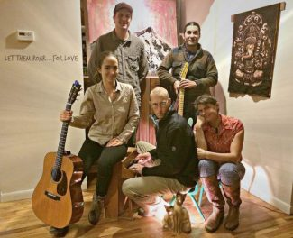 Local band Let Them Roar will perform at Sunday's Holiday Salon at Justice Snow's in Aspen.