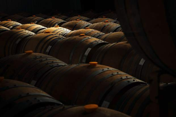 The dream started with a single used barrel. The barrel room today is quite different.