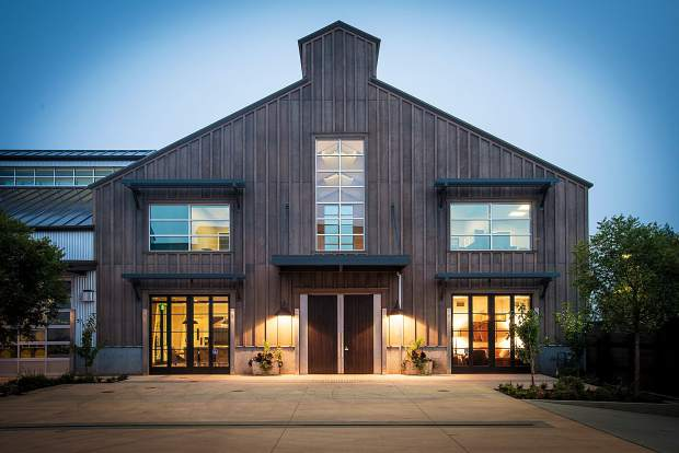 The Kosta Browne winery in Sebastopol, California, is simple and precise, much like the wines made there.