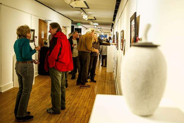 The Red Brick Center for the Arts hosted their annual Valley Art Auction Tuesday night. All auction proceeds benefit the Red Brick's art education and outreach programs.