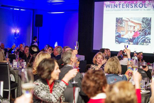 A Toast to WinterAspen's annual winter carnival keeps January lively