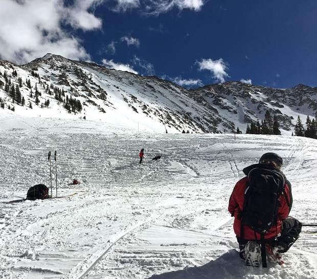 Buried Alive Colorado Rapid Avalanche Deployment Team Inches Closer