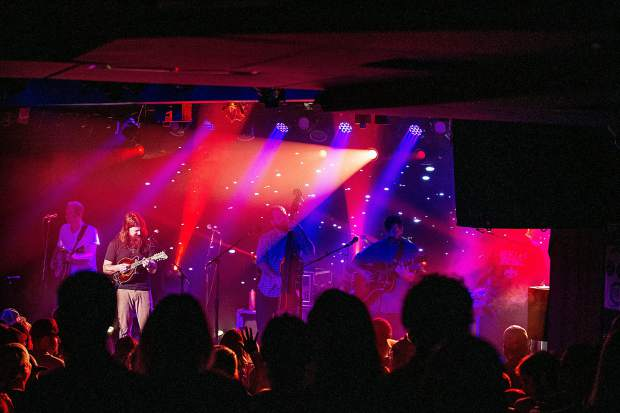 Greensky Bluegrass at their sold-out show Tuesday night at Belly Up Aspen.