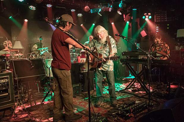 The String Cheese Incident playing Tuesday night at the Belly Up Aspen.