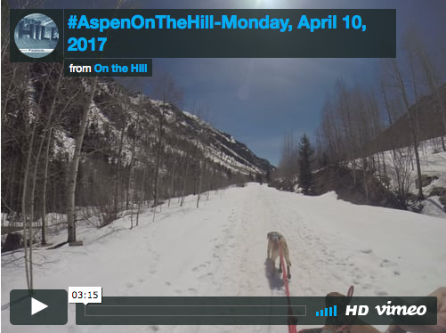 #AspenOnTheHill-Monday, April 10, 2017