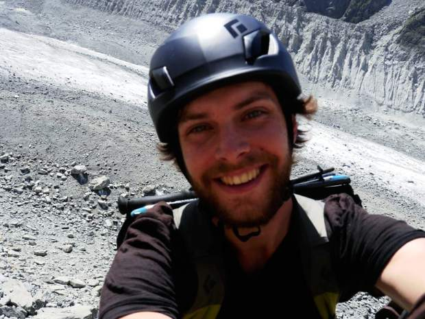 Jay Taylor, a 27-year-old transplant to Boulder, died of blunt-force trauma after colliding with a tree while skiing at Keystone Resort on Jan. 20, 2016. In this August 2013 photo, the Massachusetts native rock climbed near Chamonix, France.