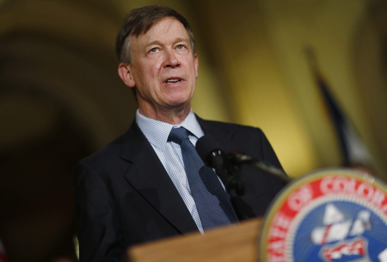 Colorado governor hints he may call lawmakers back to work