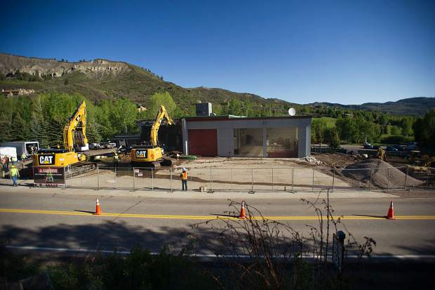 The Snowmass-Wildcat Fire Protection District along Owl Creek Road.
