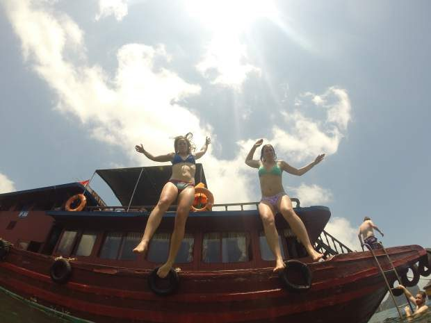 COURTESY PHOTO: An image from Southeast Asia taken by Hailee Rustad and her friend Anna Paulson that remained on the SD card found inside Rustasd's GoPro three years after it was lost in the Colorado River.