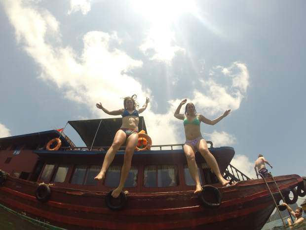 Images from southest Asia taken by Hailee Rustad and her friend Anna Paulson that remained in the SD card found inside the GoPro three years after it was lost in the Colorado River.
