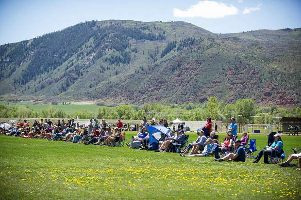 The Aspen Shootout lacrosse tournament attracts 90 teams and roughly 1,800 players. Several hundred additional parents and supporters line the fields during the tournament Saturay and Sunday.