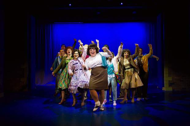 A scene from the Aspen Theatre production of Hairspray at their dress rehearsal June 23.