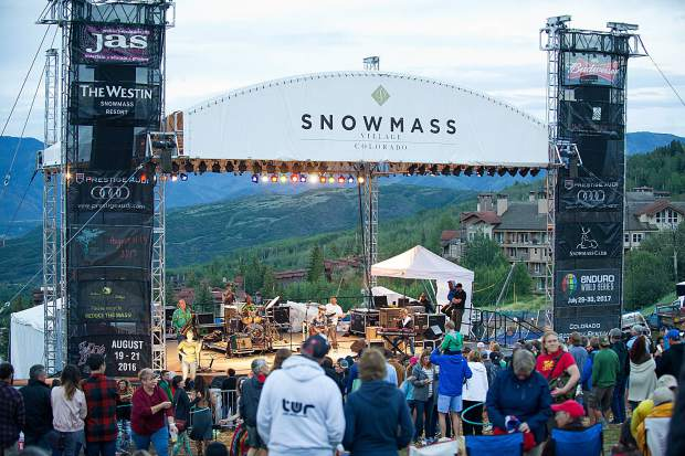 Snowmass rocks for a reason: Saturday free concert will highlight area nonprofits