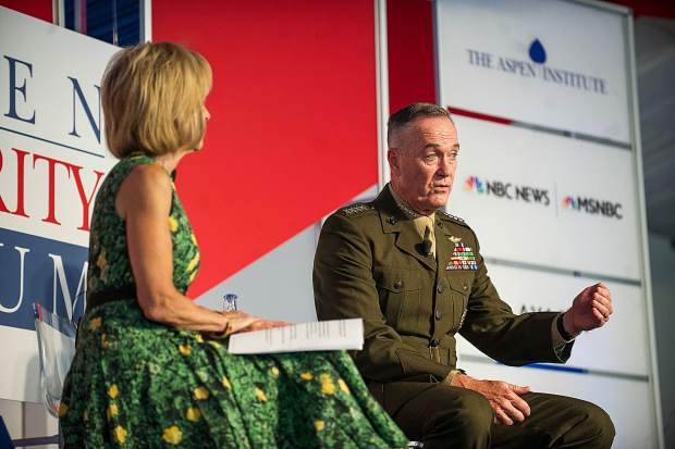 Dunford: Military option for North Korea not 'unimaginable'