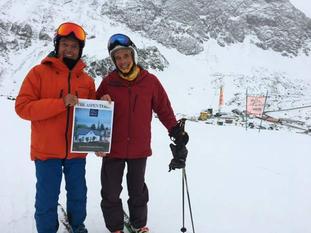 Guy DeCarlo and John Philips, ski pros with Aspen Ski and Snowboard School, recently visited Portillo, Chile for some fun skiing as well as training for upcoming season.