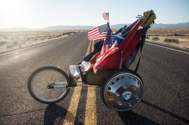 Aspen native and professional runner Rickey Gates recently completed his Transamericana journey, a roughly 3,500-mile trek mostly on foot from South Carolina to San Francisco. It took him five months to cover the distance.