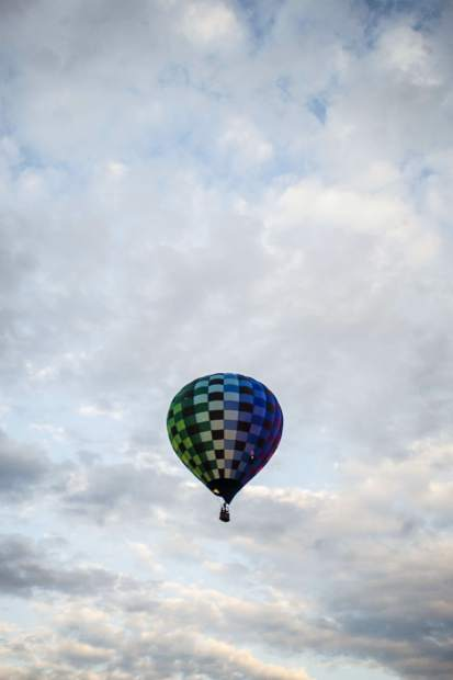 The Snowmass 42nd Annual Balloon Festival on Friday morning.