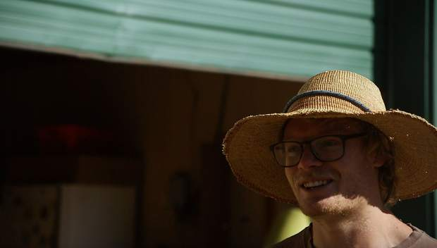 Copper Means and his Shining Mountain Farms are raising chickens and lambs on the Lazy Glen Open Space. Means put in the winning bid for a 10-acre agriculture lease on the property.