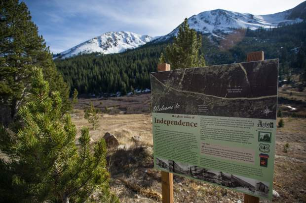 Independence Pass Ghost Town