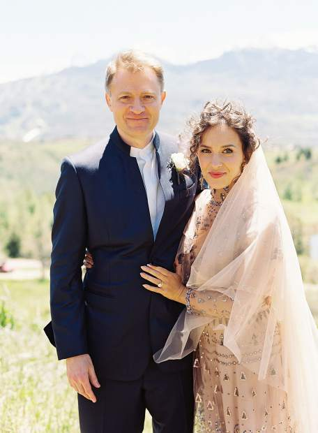 Daniel Ziff and Brianne Garcia were married in Aspen on June 10, 2017. Mrs. Ziff, of St. Louis, Missouri, received a B.A. from University of Missouri and an M.A. from City University of New York's Graduate School of Journalism, before becoming an artist in New York. Mr. Ziff, of New York City, attended Columbia University and is a managing partner at Ziff Brothers Investments LLC, a private investment firm he co-founded.