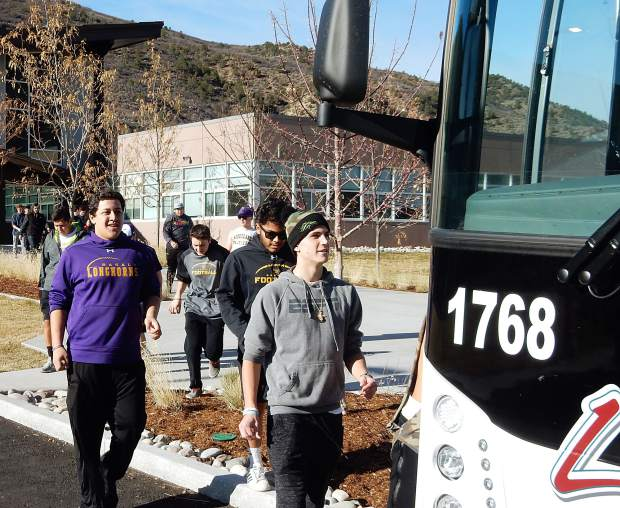 33bb4a65d27c The team made the long drive to Bayfield in southwest Colorado for  Saturday s Class 2A playoff game.