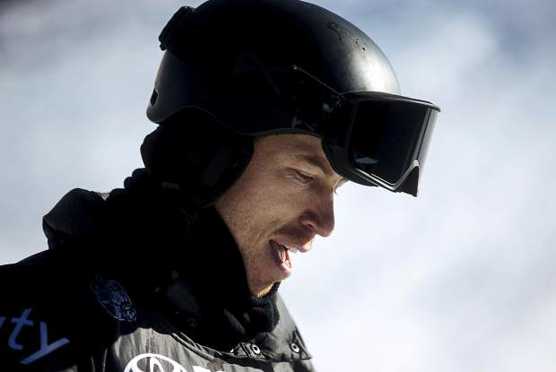 Shaun White during the U.S. Grand Prix event Saturday, Dec. 9, at Copper Mountain.