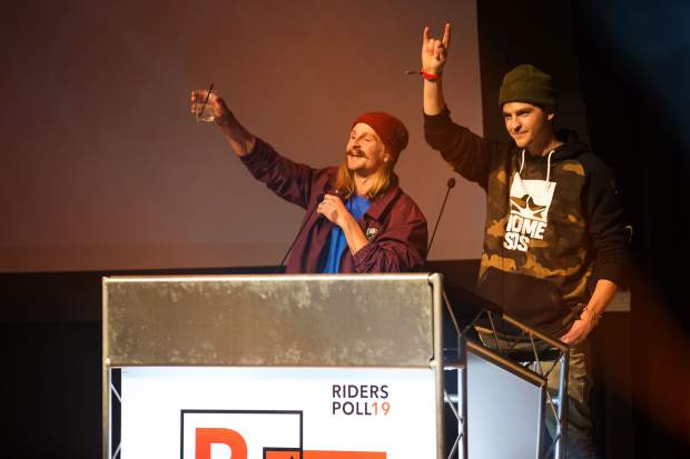 Halldor Helgason on the Readers' Choice Rider Poll award and Video Part of the Year for