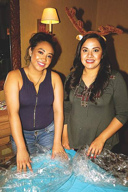 Edith Tapia and Lisa Marie Ruiz.
