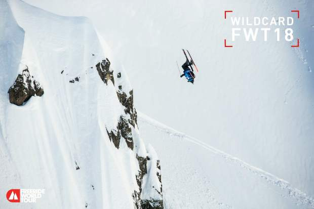 Aspen-based big mountain skier George Rodney competes in a 2016 Freeride World Tour competition in Chamonix, France.