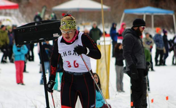 Photos from the 2018 state skiing championships in Leadville.